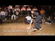 Ultimate Lindy Hop Showdown 2006 // Some of the most amazing swing dance combinations ever.