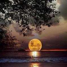 Hermosa Luz de la luna