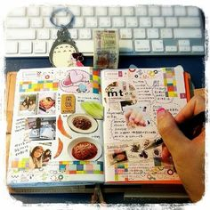 Like the combo of magazine pics & journaling - would work nicely with photos too