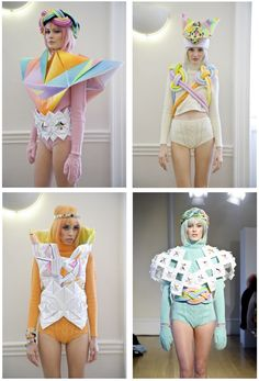 Fred Butler Fall-winter 2012-2013 collection ! pastel in winter !!!