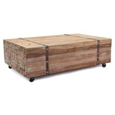 $794 - Augusta Brown Rectangle Coffee Table - Overstock Shopping - Great Deals on Coffee, Sofa & End Tables