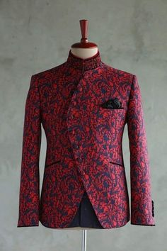 Wedding dress men - Who like it Blazer Outfits Men, Mens Fashion Blazer, Mens Fashion Wear, Stylish Mens Outfits, Suit Fashion, African Dresses Men, African Attire For Men, African Clothing For Men, African Shirts