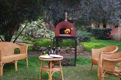 Subito Pronto outdoor ready to use woodburning Oven