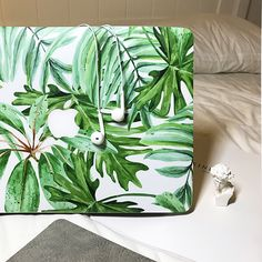 "MACBOOK SKIN DECAL STICKER - TROPICAL LEAVES -Macbook Air/Pro/Pro Retina 11""-15"" with/ without touch bar decals - Macbook Skin From CaseCarnival"
