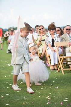 Adorbs!! Real Wedding | Caroline and Adam via The Perfect Palette