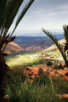 Atlas Mountains in Imouzzer, Morocco