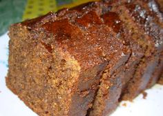 Easy Old Fashioned English Sticky Gingerbread Loaf Recipe - Genius Kitchen Loaf Recipes, Baking Recipes, Cake Recipes, Dessert Recipes, Desserts Menu, Gingerbread Loaf Recipe, Gingerbread Cake, Gingerbread Houses, Cupcakes
