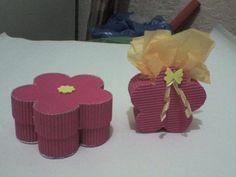 Cajas de carton corrugado decoradas - Imagui