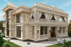 Exterior Design in Dubai, Exterior Villa Dubai, Photo 3