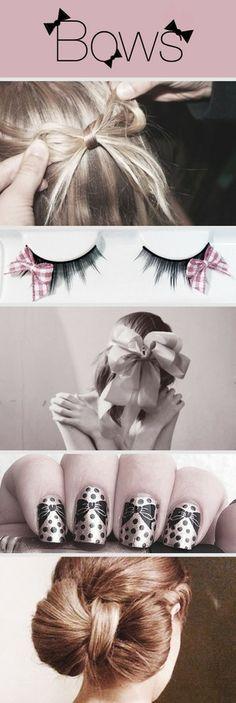 bows bows bows s2 #bow #hair