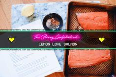 EASY AF WEEKNIGHT DINNER :: Lemon Love Salmon by The Skinny Confidential