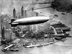 """Before the modern jumbo jet and its first class suites, the biggest and grandest thing in luxury air travel was the German Zeppelin Airship.  Of all the massive Zeppelin's constructed, the most famous was the Hindenburg.  The Hindenburg was the first of two """"Hindenburg"""" Class airships constructed"""