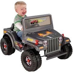Fisher-Price Power Wheels Charcoal Hot Wheels Jeep Battery-Powered Ride-On, Yellow Power Wheels Jeep, Hot Wheels, Jeep Rubicon, Jeep Wrangler, Jeep Photos, Jeep Patriot, Jeep Liberty, Jeep Compass, Activity Toys