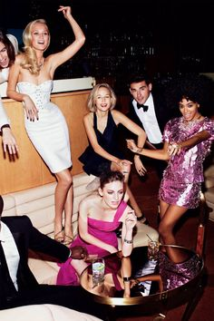 Night out with friends in the Big Apple like this please! Nightlife/ City nightlife/ New York city nightlife/ City night lights/ Nightlife fashion/ Going out outfits/ Night-out look Party Hard, Party Time, Rooftop Party, Toni Garrn, Provocateur, Looks Street Style, Studio 54, Outfit Trends, Outfit Ideas