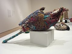 'Judith Scott: Bound and Unbound' at the Brooklyn Museum Soft Sculpture, Sculptures, Textiles, Artist Biography, Outsider Art, Textile Art, Scarlet, Fiber Art, The Voice