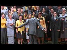 Atlanta West Pentecostal Church Sanctuary Choir singing Matthew 28 under the direction of Donald Lawrence.