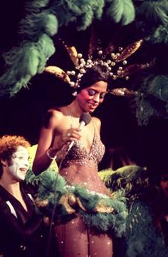 Diana Ross performs as Josephine Baker ca.1978