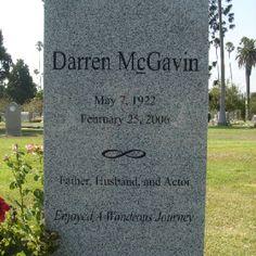 Darren McGavin (Hollywood Forever)