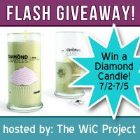 Enter to win a Diamond Candle ends - 7/5