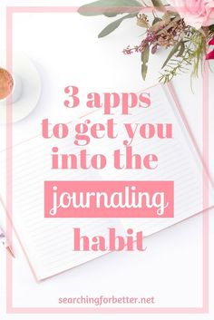3 great apps to use for your life & fitness goals for has kept me journaling everyday! Whether your new years resolution is to start a daily grateful list or keep your travel ideas, these apps can get you writing in no time. Journal App, Digital Journal, Fitness Journal, Journal Prompts, Writing Prompts, Tips And Tricks, Self Development, Personal Development, Development Quotes