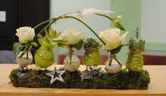 composition florale | Composition florale pour Noël - Le blog de famillesruraleschailland ...