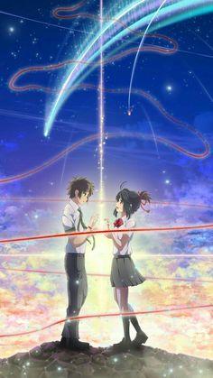 """Makoto shinkai's master piece """"Kimi no na wa"""" or in English """"Your name"""""""