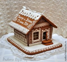 Love the rooftop Gingerbread House Frosting, Christmas Gingerbread House, Gingerbread Cookies, Gingerbread Houses, Crazy Cookies, Fancy Cookies, Naha, Christmas Sugar Cookies, Christmas Baking