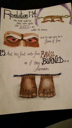REVELATION 1:14-15 The revelation of Jesus Christ... GOD SPEAK TO US AN WE JUST DONT UNDERSTAND ...