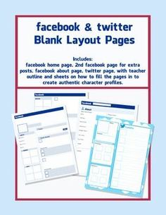great facebook template for book reports http freeology. Black Bedroom Furniture Sets. Home Design Ideas