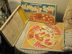 Alphabet Soup Preschooler Board Game 1981 by Daysgonebytreasures