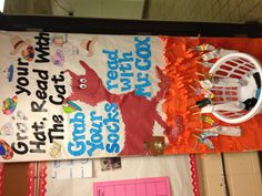 Door decorating contest for Dr. Seuss themed Read Across America Week