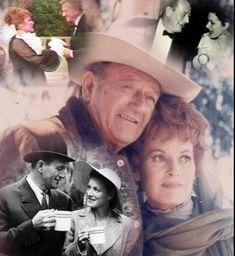 Image result for John Wayne Maureen O'Hara at 106 S