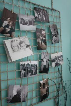 Clothespin Photo Displays On Pinterest Photo Displays