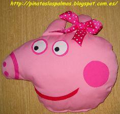 Piñatas Las Palmas: Cojín de Peppa Pig