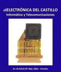 Cámara frontal original Sony Xperia Z1 L39H C6902 C6903 C6906 flex