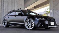 Matte Black MTM Audi RS6 with HRE Wheels - Motorward