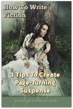 How To Write Fiction: 3 Tips To Create Page-Turning Suspense http://peneloperedmont.com/write-fiction-3-tips-create-page-turning-suspense/