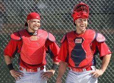 St. Louis Cardinal catchers!!!