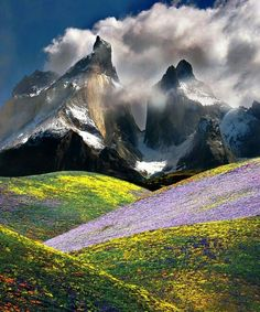 Patagonia - Such beauty in such a dangerous place.