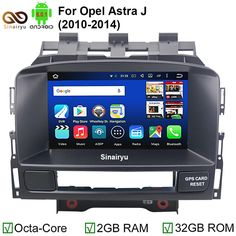 [Visit to Buy] 2GB RAM Octa Core Pure Android 6.0.1 Car DVD PC Video Player For Opel Astra J With GPS Bluetooth DVR 4G WiFi HD 1024*600 Pixel #Advertisement
