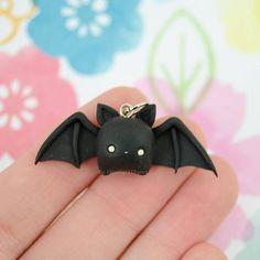 #kawaii #charms #polymer #clay #bat
