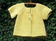 tricoter un gilet taille 8 ans