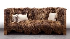 The New York based design team at Sentient may not have set out to design a Chewbacca sofa, but they totally did. Just add a bandolier to that thing and this is easily the coolest piece of Star Wars furniture ever made. Wookie not included.