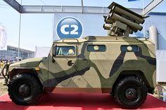 Russian-made Kornet-EM mobile anti-tank missile system.