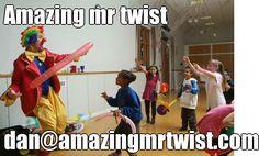 Amazing mr twist | dan@amazingmrtwist.com