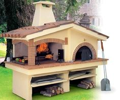 Brick oven for my dream yard!