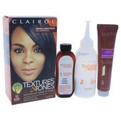 Clairol Textures & Tones Permanent Moisture-Rich Haircolor  # 1B Silken Black  1 Application Hair Color  Walmart.com Textures And Tones, Hair Color For Black Hair, Color Trends, Haircolor, Moisturizer, Color Black, Walmart, Hair Color, Moisturiser