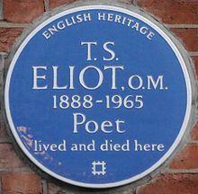 T. S. Eliot - Wikipedia, the free encyclopedia