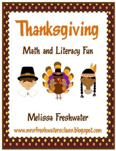 This 120 page Thanksgiving Unit has 14 different math activities and 13 different literacy activities to keep your little pilgrims and indians busy throughout November. Some of the activities included areMath:PatternsAdditionNumber Recognition and WritingSize OrderCountingTen FramesNumber OrderNumber Word RecognitionCounting By 10'sLiteracy:Letter Writing and RecognitionColor Word RecognitionSight Word ActivitiesBeginning SoundsSyllable CountingLetter SortingCVC wordsWritingThis unit will…