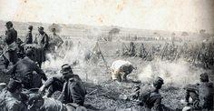 Bataille de la Marne- Bivouac de troupe devant Marson (France) - 11/09/1914